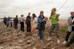 Põhiüritus - kivilabürindi ehitamine Hiiumaal